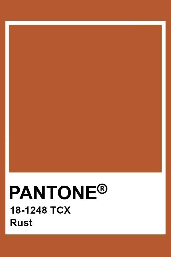 Pantone Rust Pantone Colour Palettes Orange Color Palettes Rust Color Paint