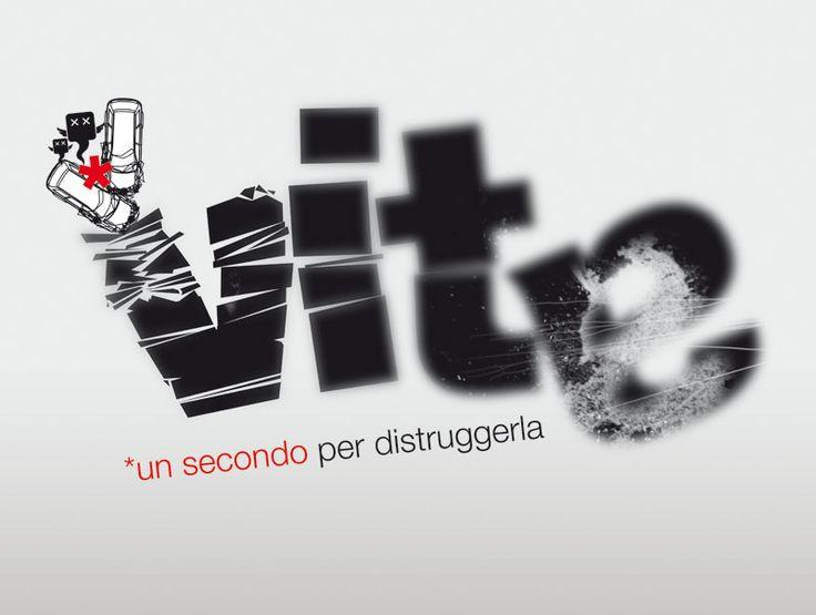 Progetto D.O.S.  Studio del Concept, logotipo e progettazione grafica Campagna di sensibilizzazione contro l'abuso di alcool e droghe alla guida.  Rieti | Mirko Cianca | Grafica