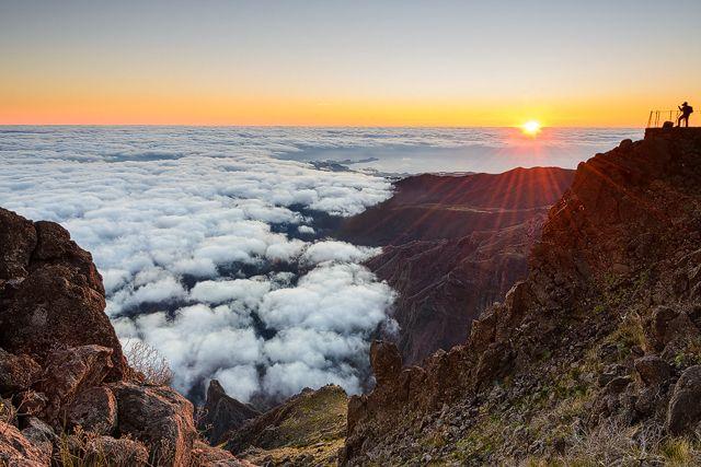 Pico do Arieiro, Madeira. 2 November 2013.