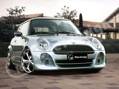Bet you didn't know Mini Coopers could be This sleek!  Yowzers! Very shiny, sleek and cool.