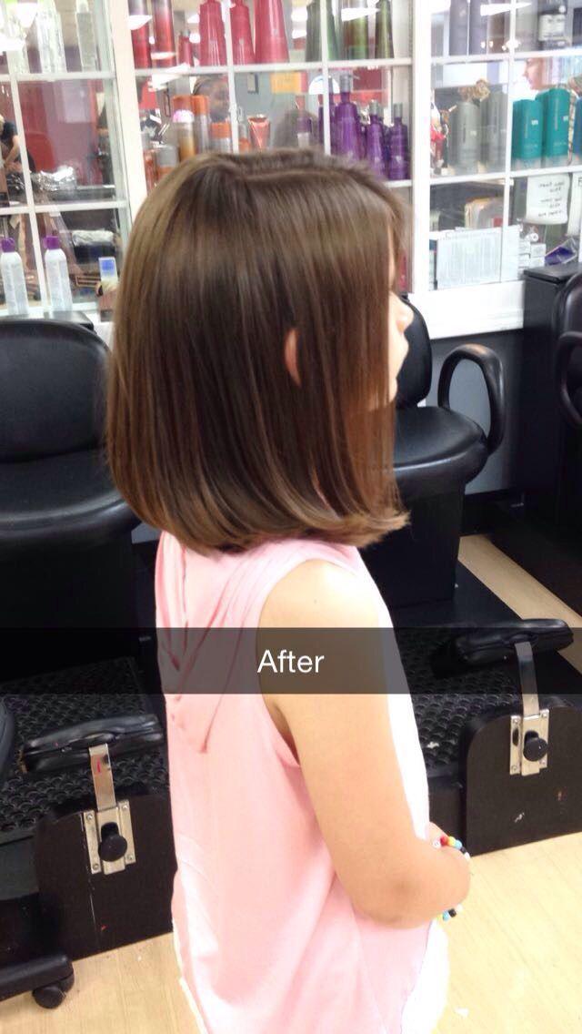 nice Cute little girl haircut...