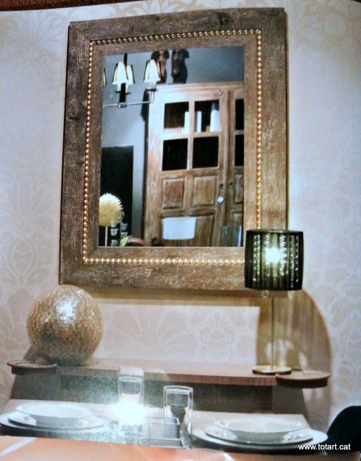 Espejos a medida para decorar tu hogar ideas para for Ideas para enmarcar espejos