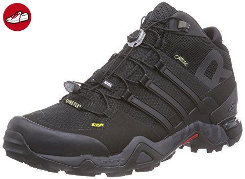 adidas Terrex Fast R Mid GTX, Herren Trekking- & Wanderhalbschuhe, Schwarz (Core Black/Dark Grey/Ftwr White), 47 1/3 EU (12 Herren UK) - Adidas schuhe (*Partner-Link)