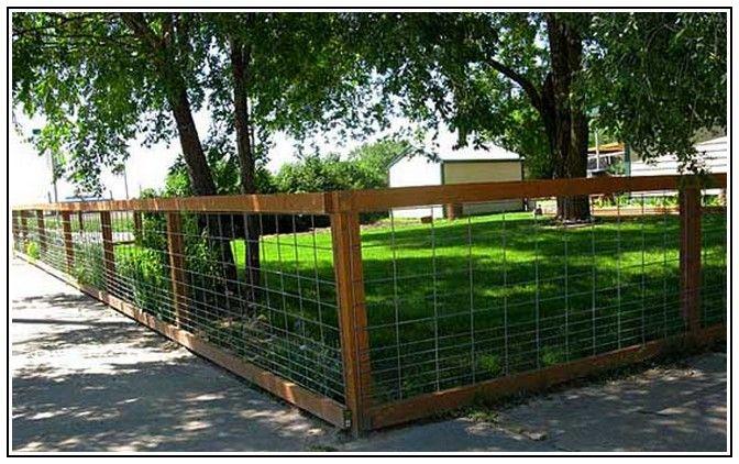 Diy Dog Fencing Ideas My Pets Pinterest Fence