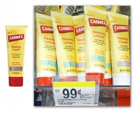 Free Carmex Lotion After Points at Walgreens!