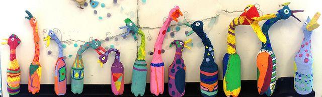Barbara Kobylinska inspired sculptures | www.smallhandsbigart.com | Flickr - Photo Sharing!