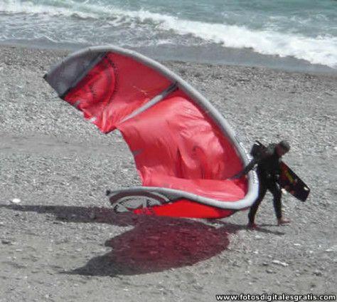 Kite Surf - Deportes en Almuñécar Costa Tropical de Granada Andalucía