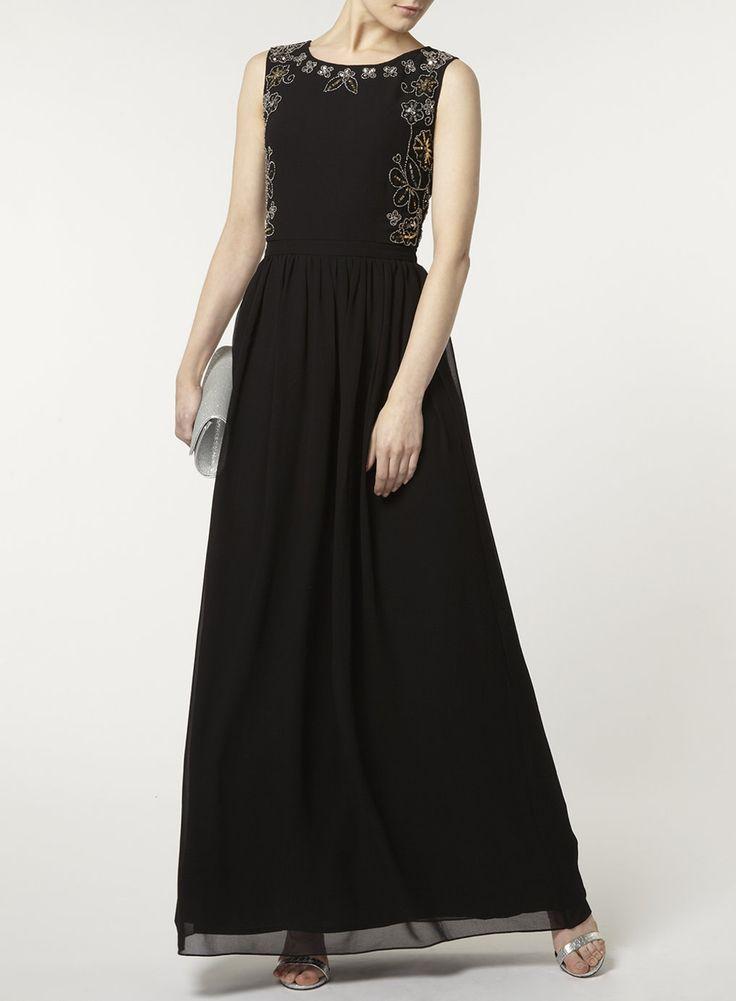 Photo 2 of Scarlett B Black Embellished Maxi Dress