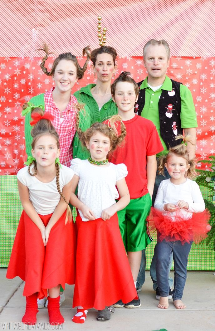 How The Grinch Stole Christmas! Christmas Photo 2013 - Vintage Revivals