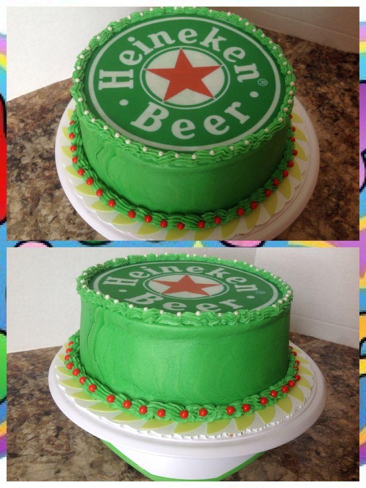 Heineken Cake Para Endulzar El Paladar Pinterest