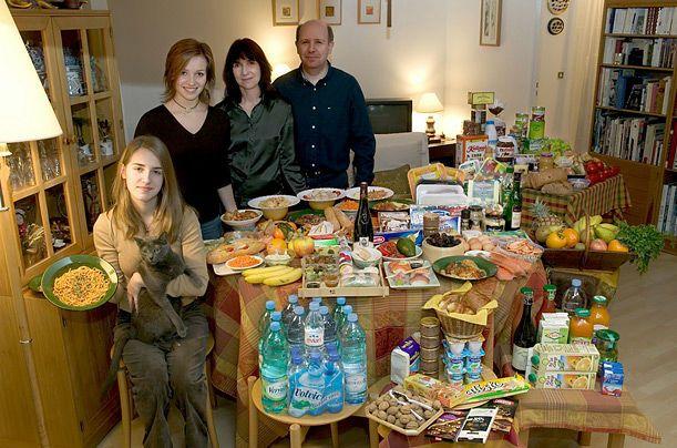23:フランス  モントルイユのLe Moine家の人々と1週間で必要な食料 1週間の食費:約3万4000円(315.17ユーロ) 好きな食べ物:アプリコットタルト、カルボナーラのパスタ、タイ料理