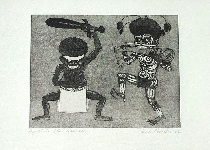 Kannibalen in Melanesien