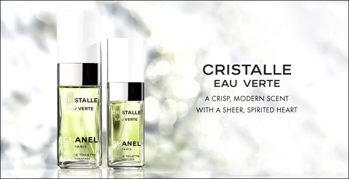 CHANEL- Cristalle Eau Verte.  Launched in 2009.