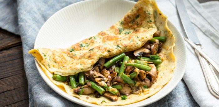 Geen koolhydraten en toch een vullend gevoel. De omeletwrap is een super uitvinding!