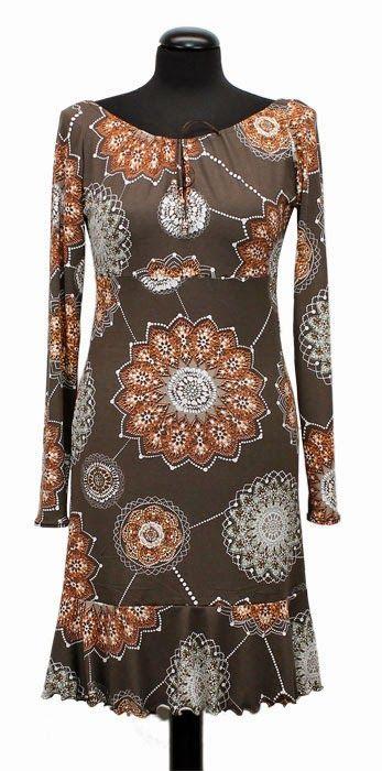 Un patrón gratis para un vestido de punto de confección fácil