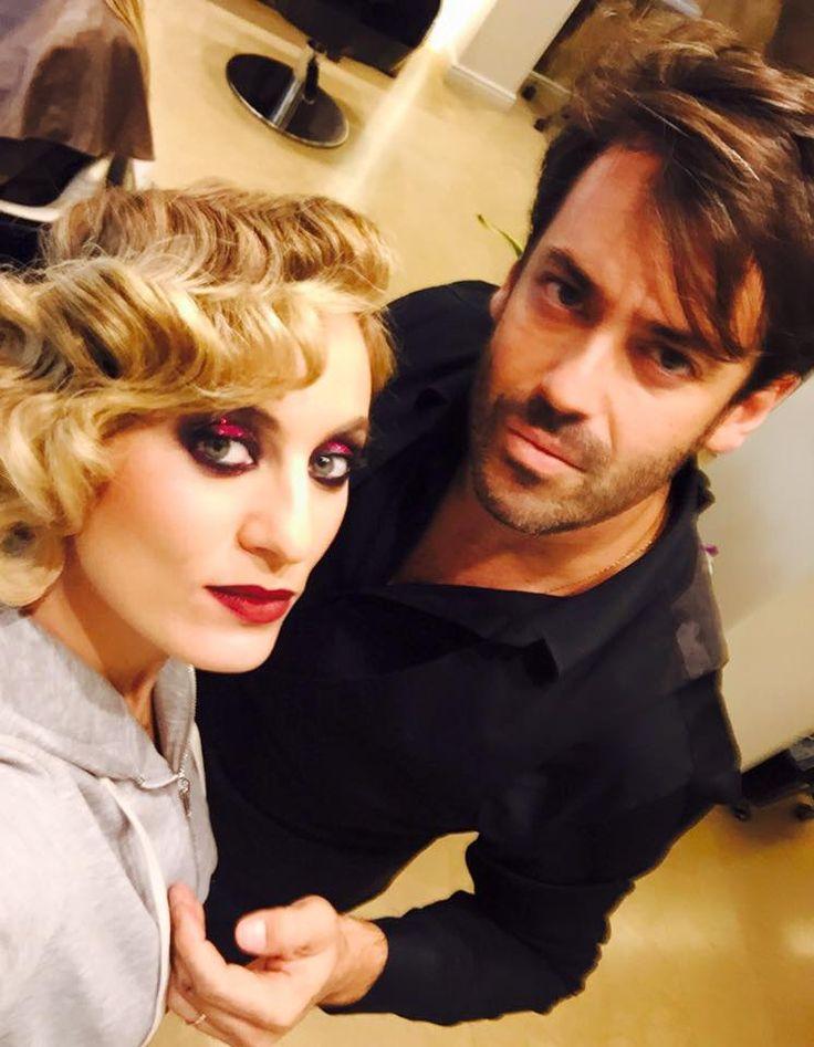 Eleonora Meleti Gatsby look Hair + make up by Panos Kallitsis