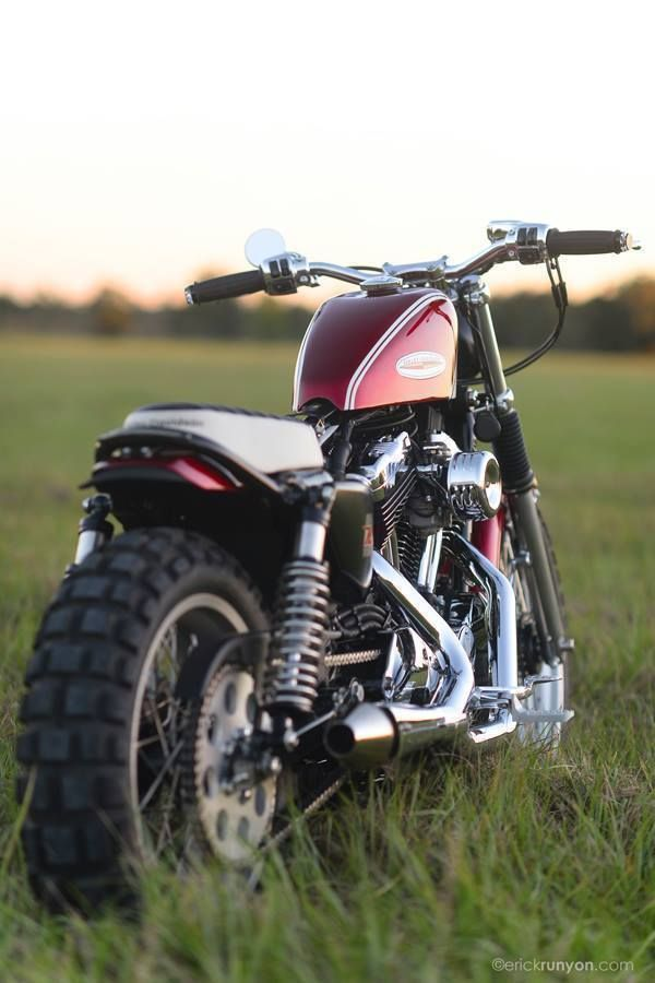 Racing Cafè: Harley XL 1200 2004 by Hageman Motorcycles #harleydavidsonstreet500