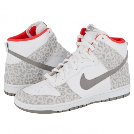 Nike high-tops With cheetah print
