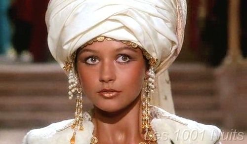 A young Catherine Zeta Jones as Scheherazade in Les 1001 Nuits (1990)