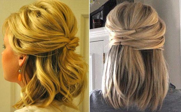 10 penteados lindos e simples para quem tem o cabelo mais curto - Beleza - CAPRICHO