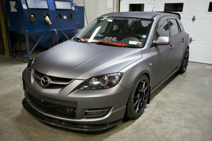 Gray MazdaSpeed 3. I always loved the look of this car especially the wing. I would love to make an AWD version.