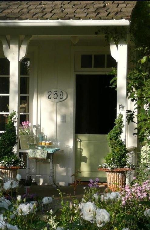 Back door home sweet home pinterest green doors for Back doors for homes