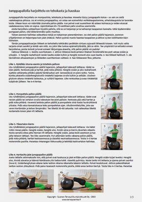 Harjoitusohjelma-jumppapallo