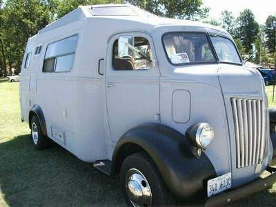 1941 Ford COE camper conversion. Most awesome camper ever. Might have to build me one.