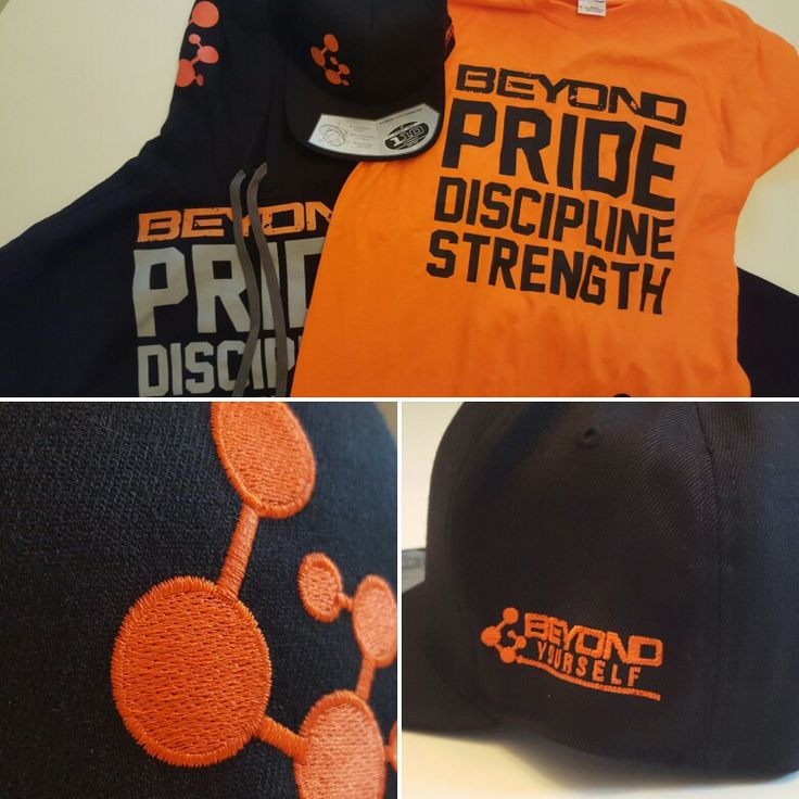 New FlexFit hats for our friends at Beyond Yourself!