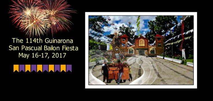 Official invite to the 114th Guinarona San Pascual Bailon Fiesta, Leyte, PH