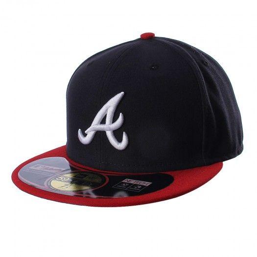 La gorra 5950 MLB Atlanta Braves de New Era está diseñada para que apoyes a tu equipo de béisbol con estilo y elegancia. Cuenta con bordados de colores que no podrán pasar desapercibidos.