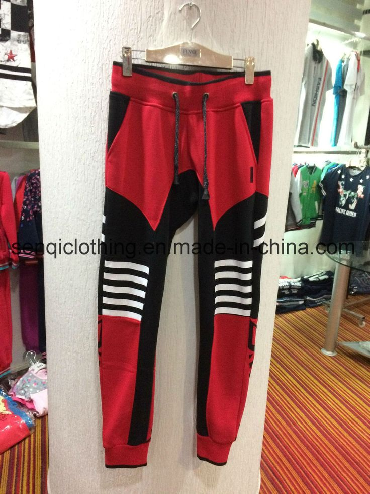 2017 Street Style Men Leisure Jogger Panting Pants Trousers with Pocket Fw-8635