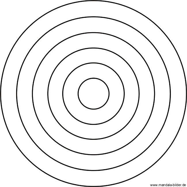 Einfaches Mandala Fur Kindergartenkinder Zum Ausdrucken Geometrische Malvorlagen Einfaches Mandala Mandalas Zum Ausdrucken