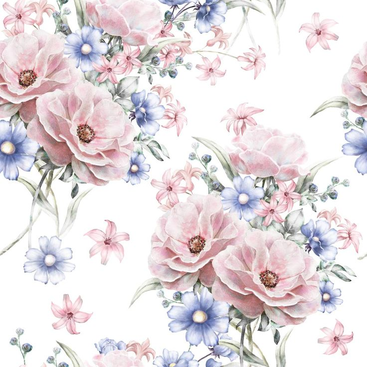 Pink Flowers Wallpaper: Best 25+ Vintage Flowers Wallpaper Ideas On Pinterest