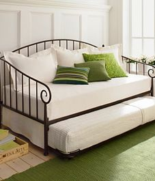 This day bed would be perfect in a guest room... you could house a small family :)