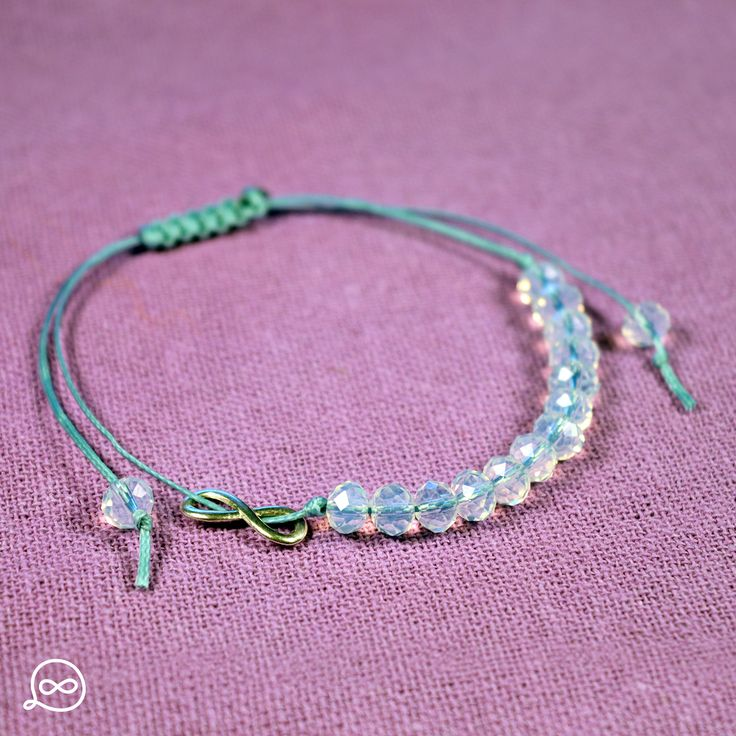 Translucent Beads Bracelet. #tufatufa