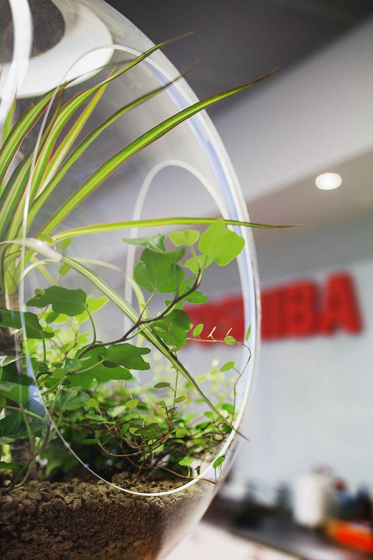 Babylone pendant at Toshiba Office / Ph. Angelica Gunnar