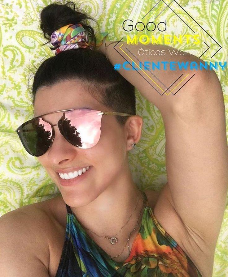 #Repost @goulartbru ・・・ Mais arco-íris🌈🦄 por favor🙏🏼❤️ hahahahaha.... pra quem ainda não é fã borá experimentar as sensações de todas rs... porque essa temporada elas vão reinar!!! #cores #arcoiris #colors #oculosespelhado #oticaswanny #dior #me #thinkgreen #fashion #modafeminina #moda #clientewanny #brunagoulart