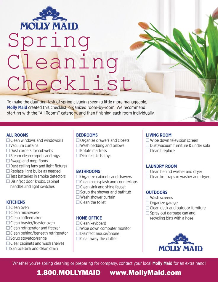 94 best Clean It Up images on Pinterest Cleaning, Organization - spring cleaning checklist