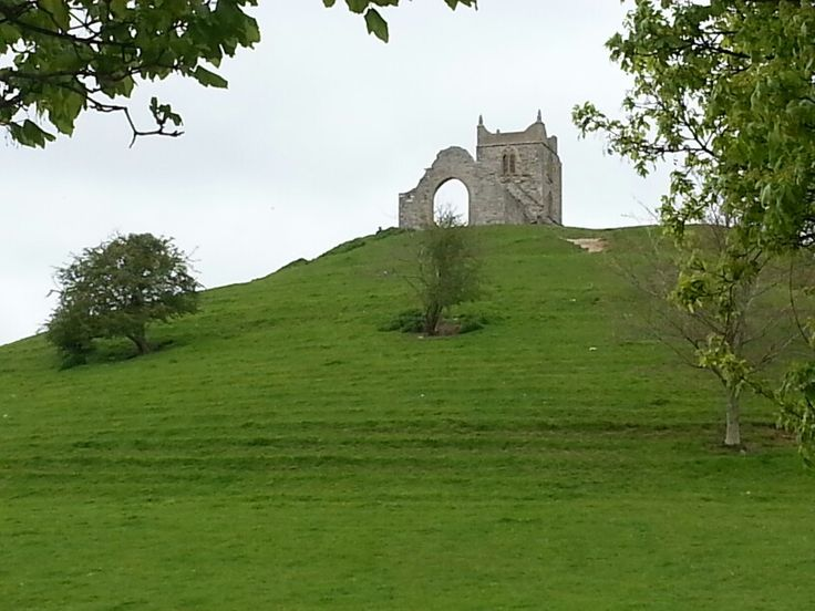 Burrow Mump in Somerset. 1st May