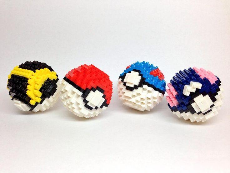 Kentaro Negoro Pokeball Pokemon Nanoblock Pokemon Pinterest