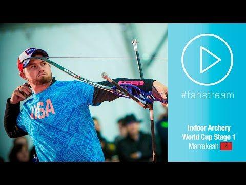 #FanStream: Brady Ellison v Matteo Fissore – Recurve Men's Gold Final | Marrakesh 2016 - YouTube
