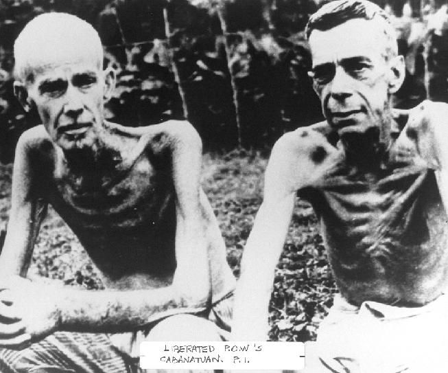 bataan death march - The will to survive is so powerful.