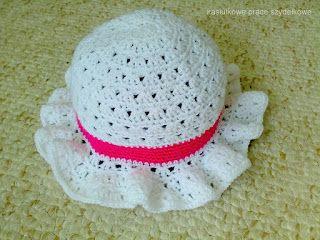 Kasiulkowe prace szydełkowe: Czapeczka / kapelusik
