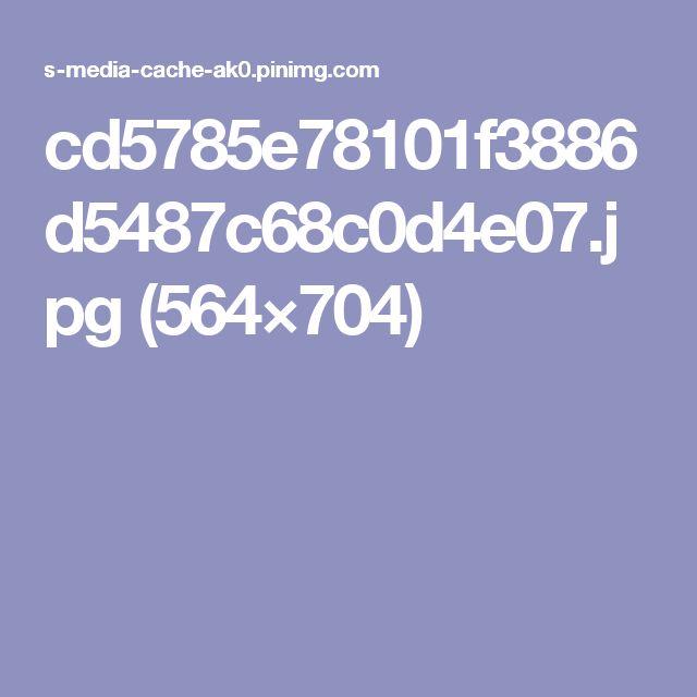 cd5785e78101f3886d5487c68c0d4e07.jpg (564×704)