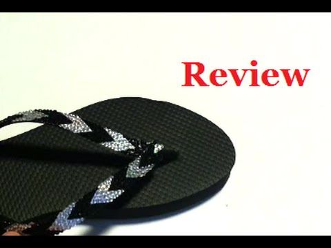 Flip Flop Bling Rhinestone Strips, just peel & stick to flip flops. Cost:  Great idea, but the product doesn't work on all types of Flip Flops ✖ ✖ ✖ ✖  ✖ ...