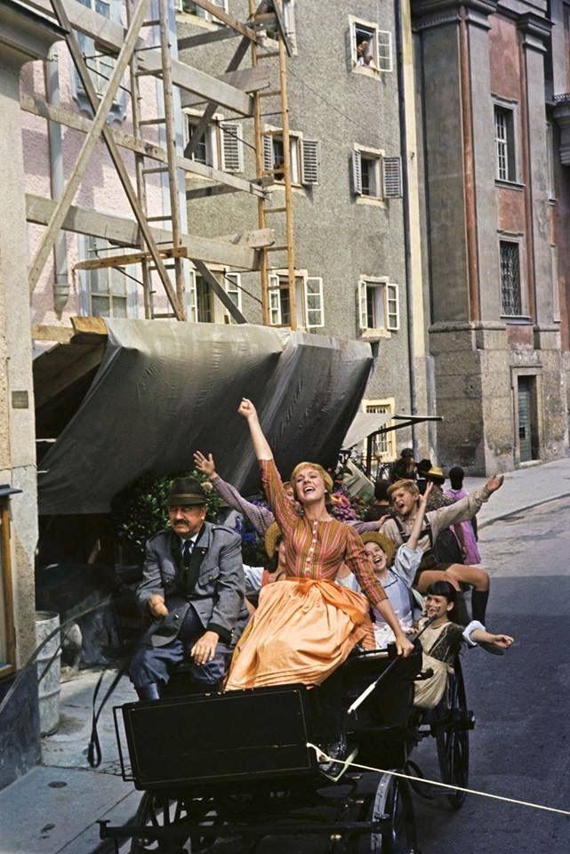 Filming The Sound Of Music 1965 Sound Of Music Movie Sound Of Music Musical Movies