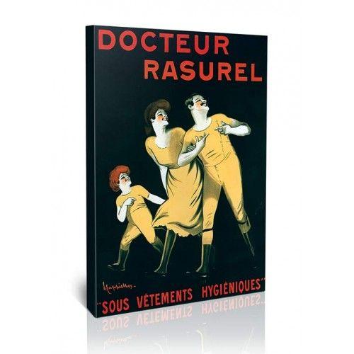 Doctor Rasurel - לאונטו קפיאלו | גאיה - תמונות קנבס לסלון