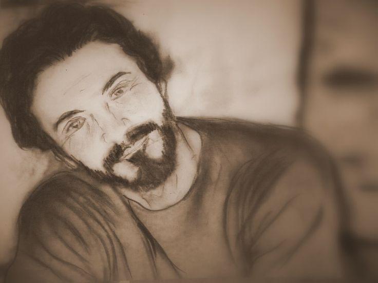 Portrety... rysunek Anna Ewa Cisak