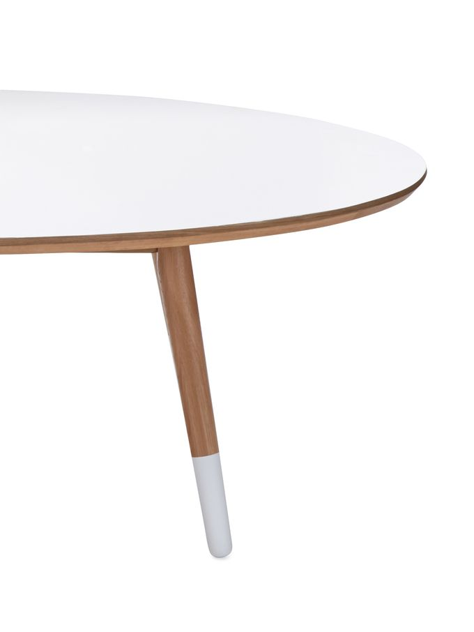 Retro Oval Coffee Table from Soft Modernism on Gilt